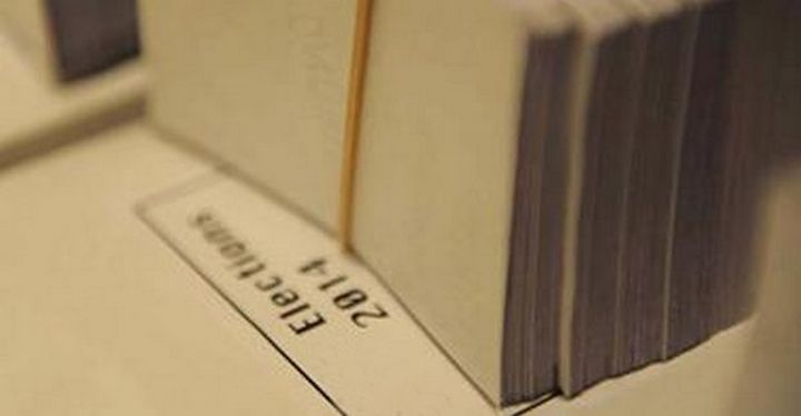 Collection of voting documents for voters in Gozo