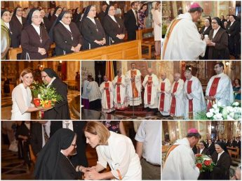 100 years of the Franciscan Sisters of the Sacred Heart celebrated in Nadur