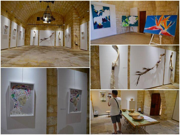 Three Solo Exhibitions at the Citadel Cultural Centre, Gozo