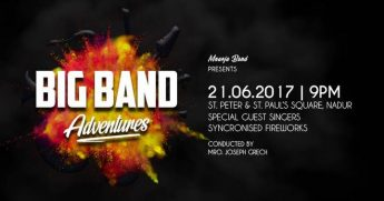 Big Band Adventures celebrating Mnarja Band's 50th anniversary