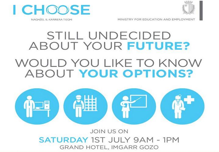 Ichoose convention for students this coming Saturday in Gozo