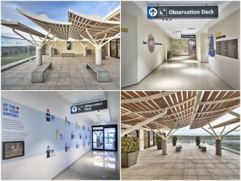 Revamped observation deck reopens at Malta International Airport