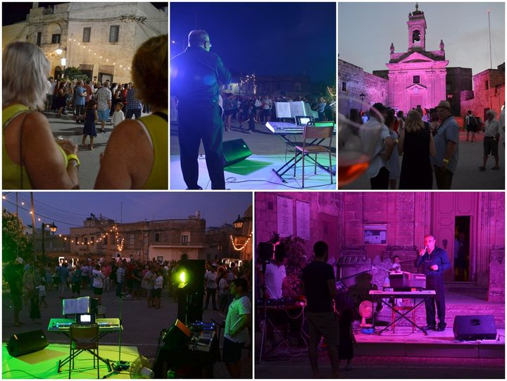 Santa Lucija Wine Festival attracts large crowds to the village