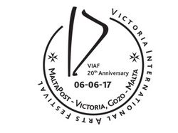 Victoria International Arts Festival 2017: Special Hand Postmark