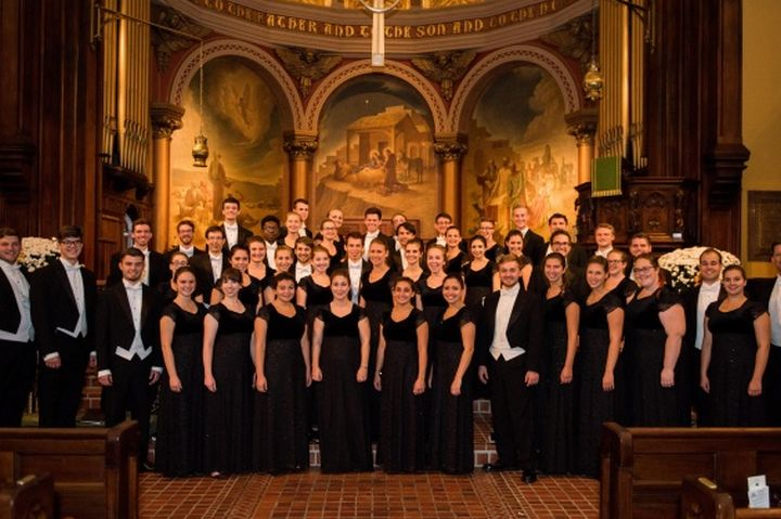 University of Delaware Chorale in concert at St George's Basilica