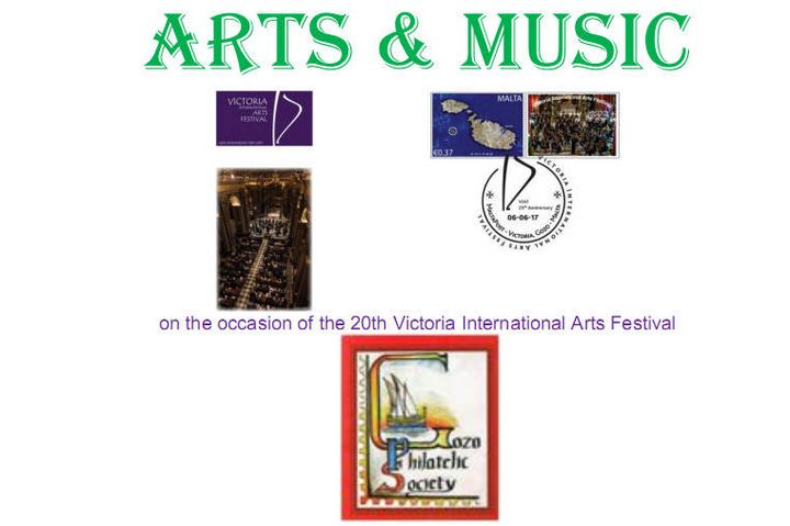 Music on Malta Stamps exhibition at Il-Hagar Museum in Gozo