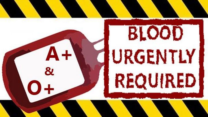 Blood bank issues urgent call for type O positive and type A positive
