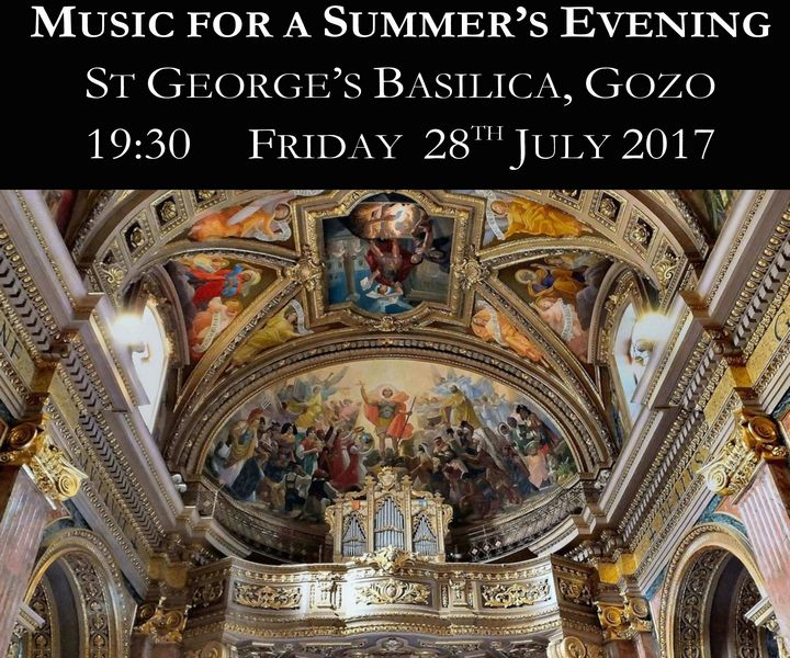 The Choir of All Saints' Northampton with music for a summer's evening