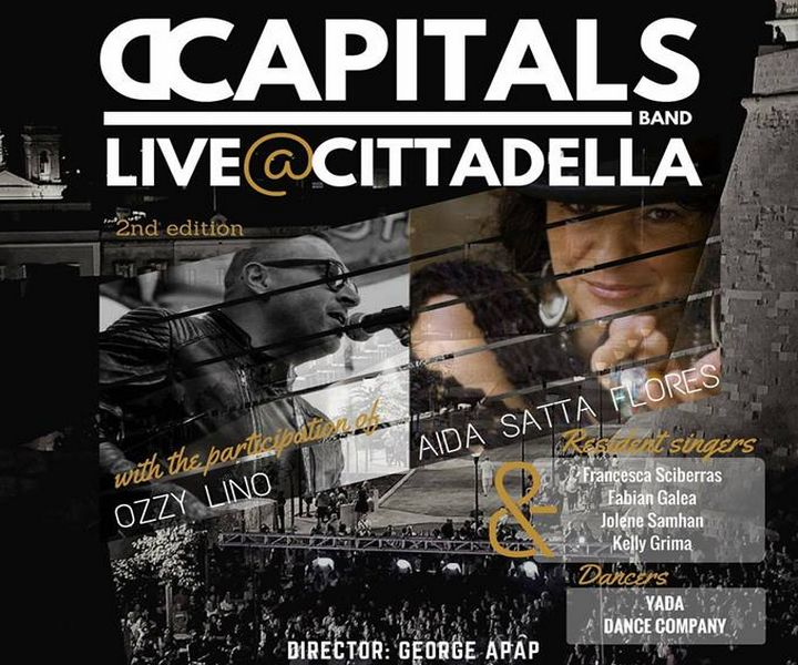 DCapitals in open-air live concert at the Cittadella this month