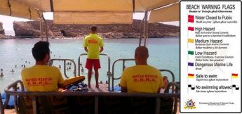 Over 100 swimmers rescued at Blue Lagoon because of rip currents