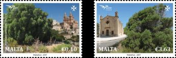 EuroMed Postal: Trees in the Mediterranean - Stamp issue