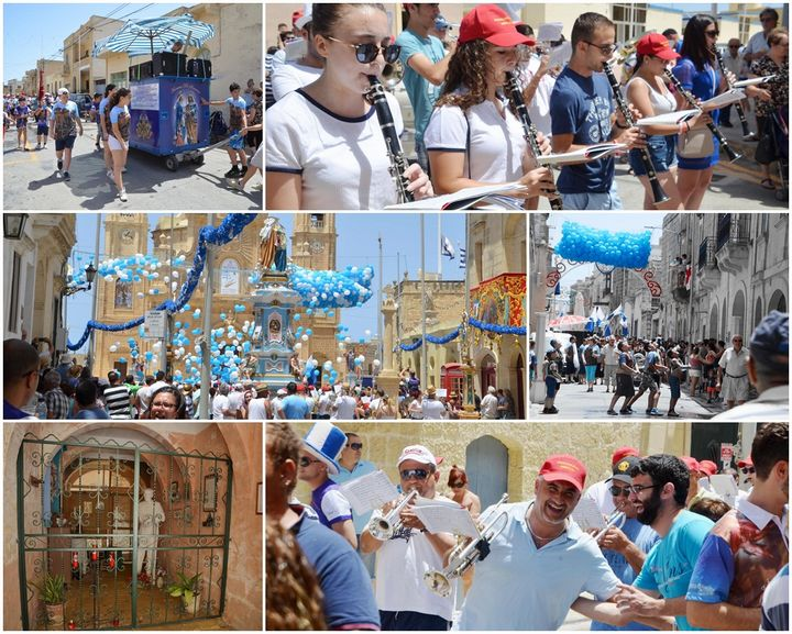 Gharb celebrates feast of the Visitation of Our Lady to St. Elizabeth