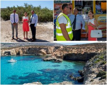 New Wi-Fi service launched in Comino by the Minister for Gozo