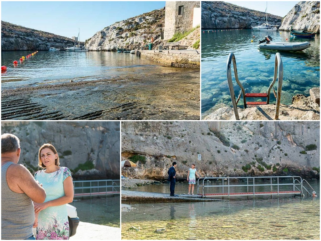 Gozo Minister looks at making Mgarr ix-Xini beach more accessible for all