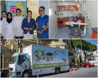Free dentistry service in Gozo with the Mobile Dental Unit