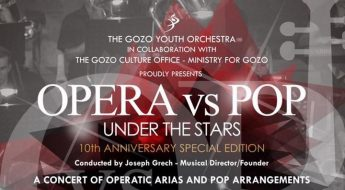 Opera vs Pop Under the Stars at the Fort Chambray Resort in Gozo