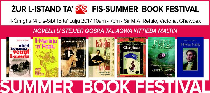 SKS Publishers participating at the Gozo Summer Book Festival