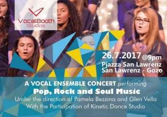Pop, Rock and Soul Music and dance in San Lawrenz concert
