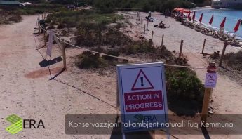 Nature Trust (Malta) welcomes works carried out across Comino
