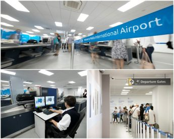 Passengers flows greatly improved with MIA temporary security area