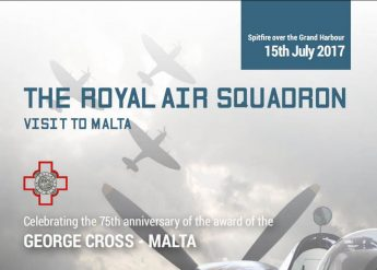 Spitfire over the Grand Harbour - Flying display this Saturday