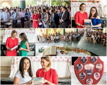 Gozo Minister attends Graduation Ceremony for Year 8 students