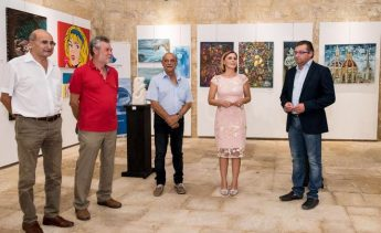 Annual collective art exhibition by Art Club 2000 at the Cittadella