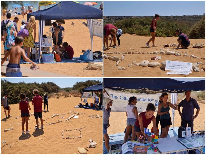 Fish made from pebbles, crafts and much more at Ramla Bay event