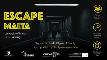 Escape Malta' turns kids into researchers through new role-play game