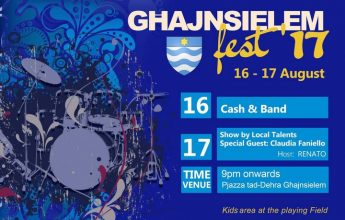 Ghajnsielemfest: 2 evenings of entertainment starting with Cash and Band