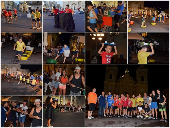 Giochi – it's a knockout 2017: Games, fun & entertainment in Xaghra