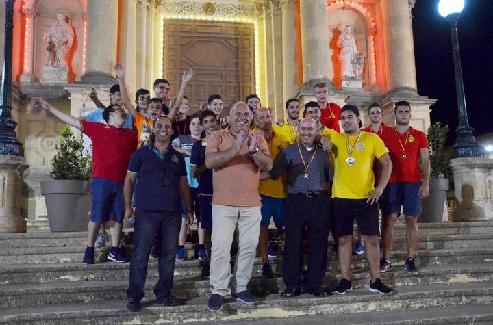 Armar United are the winners of Giochi games night in Xewkija