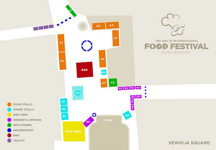Gozo Edition of the Malta International Food Festival on Saturday