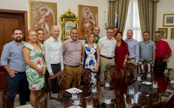 Malta Sports Journalists Executive meet with the Minister for Gozo