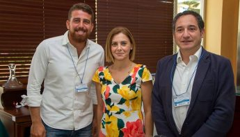 Gozo Minister visits the opening of the 6th OTIE Summer School