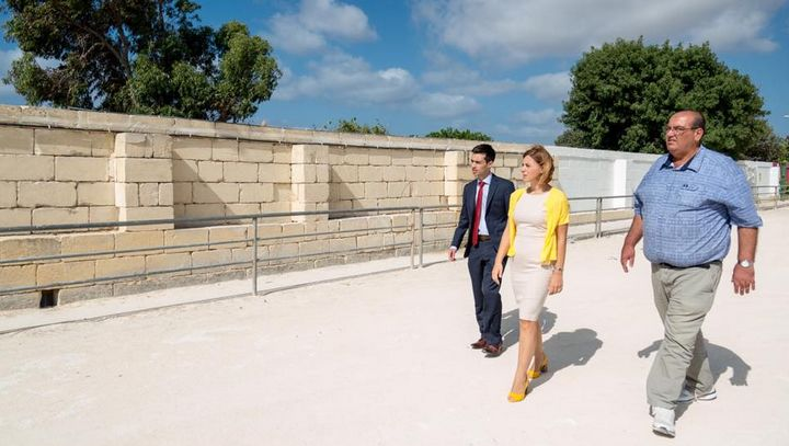Gozo Minister promises her support to develop facilites at Ta' Xhajma track