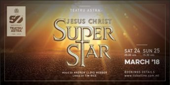 Jesus Christ Superstar next March at the Astra Theatre, Gozo