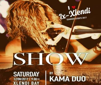 KaMa Duo this Saturday in Xlendi