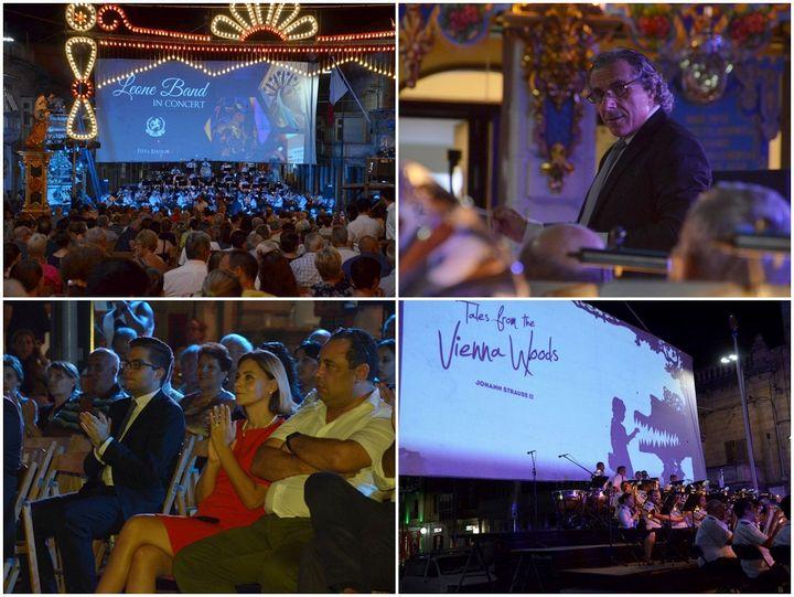 Large crowds enjoy Leone Band Concert for feast of Santa Marija