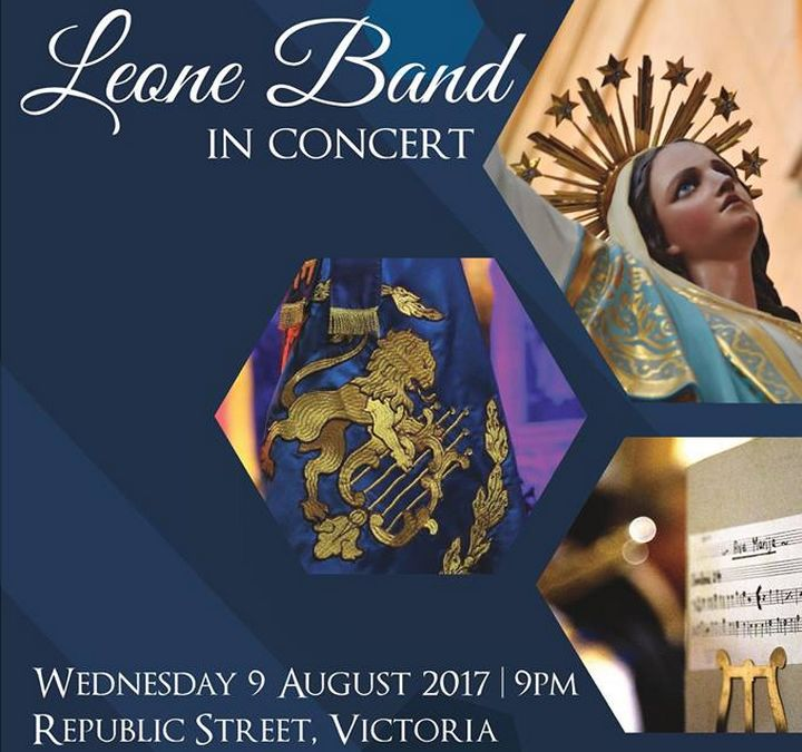 Leone Band Concert Festa Edition on Wednesday evening