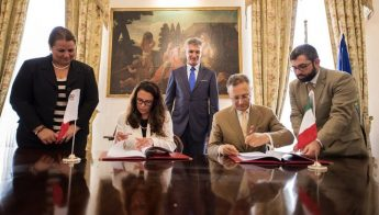 Cultural and Educational Agreement signed between Malta and Italy