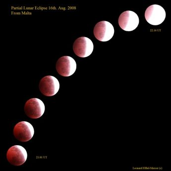 View the partial lunar eclipse during Malta observation night