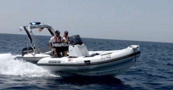 Transport Malta officers patrolling local waters aim for safety at sea