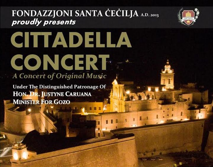 The Santa Cecilia Foundation Cittadella Concert next month