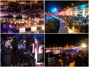 A musical evening at Mgarr harbour with Stage and Proms on the Sea