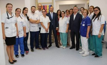New Stroke Rehabilitation Unit opened at Karin Grech Hospital