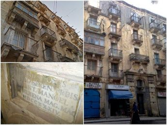 PA gives green light for facelift to dilapidated facades in Valletta