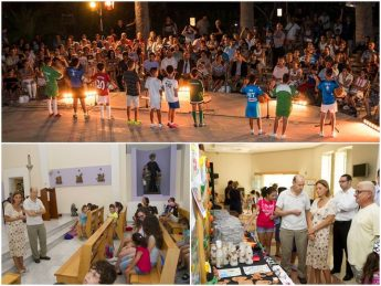 Minister Justyne Caruana attends children's educational activities