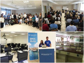 First Barts Medical School students begin their studies in Gozo