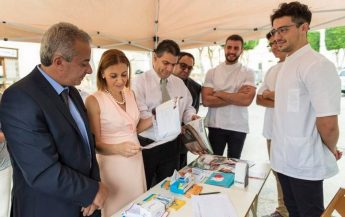 Gozo Minister thanks Mobile Dentistry team who are in Victoria Friday
